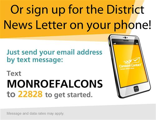 Sign Up For District News Letter On Your Phone