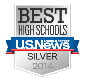Link to usnews.com best high schools